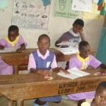 Sep 2009: Kakunyu children at their desks